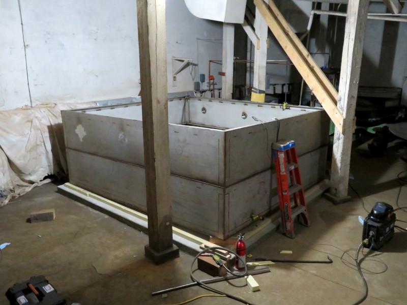 New ice tank full height